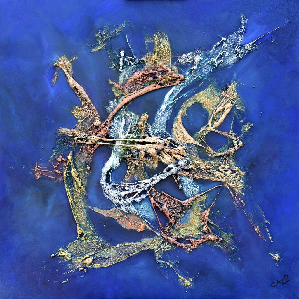 Cazo artiste peintre abstrait art tellurique for Artiste art abstrait