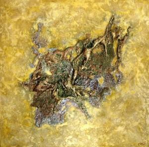 CAZO artiste peintre de l'art tellurique - Peinture Minéraux