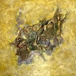 Oeuvre d'art MINERAUX tableau abstrait art tellurique - Galerie-peinture Universum-tellus