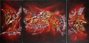 Galerie peinture CAZO artiste peintre de l'art tellurique - Peinture Tellurico