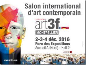 salon-international d'art contemporain art3f montpellier