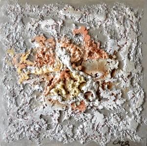 Galerie tableau abstrait art tellurique - piano