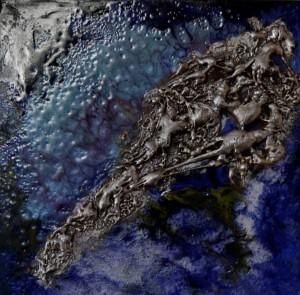 Galerie tableau abstrait art tellurique - Plata