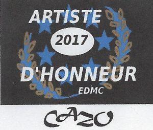 Artiste d'honneur Cazo EDMC