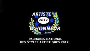 Palmares National des styles artistiques 2017