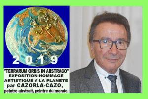 "Exposition Hommage International à la planète Terre ""TERRARUM ORBIS IN ABSTRACTO"