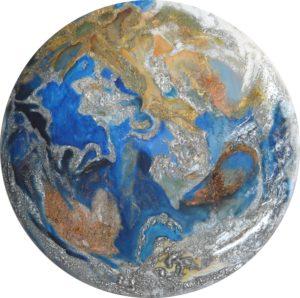 Galerie tableau abstrait art tellurique -Telluric Terra