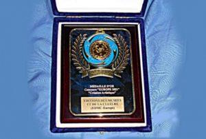 Lauréat médaille d'or concours numérique